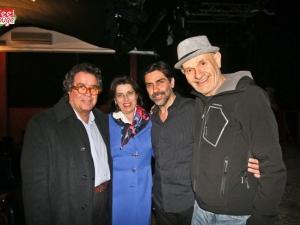 Sergio Vespertino, Sebastiano Tusa, moglie del Soprintendente, Marcello Mandreucci