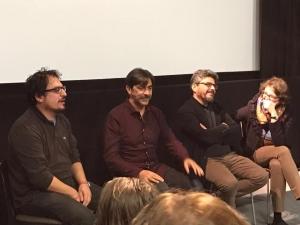 LO SCAMBIO a Cardiff IFF- Incontro con il pubblico con Sergio Vespertino e Salvo Cuccia (foto di Leonardo Guerra Seràgnoli)