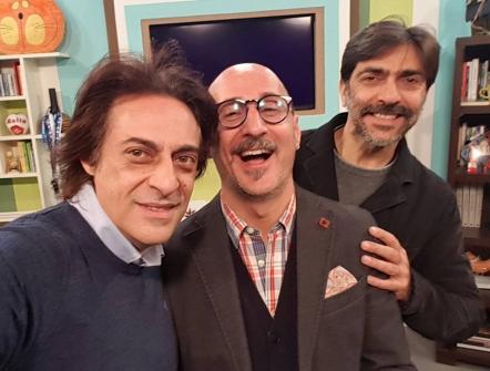 Un saluto da Casa Minutella... — con Massimo Minutella e Sergio Vespertino