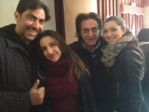 Sergio Vespertino, attore siciliano foto dal profilo di facebook