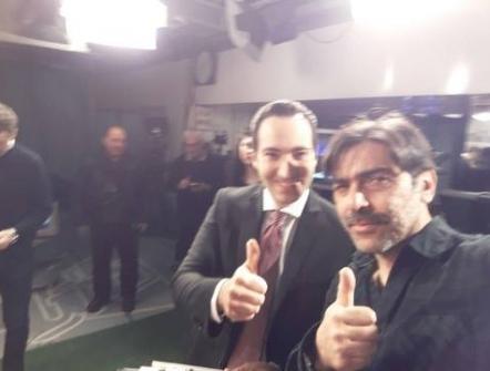 Sergio Vespertino e Pierpaolo Petta al GDS STADIO