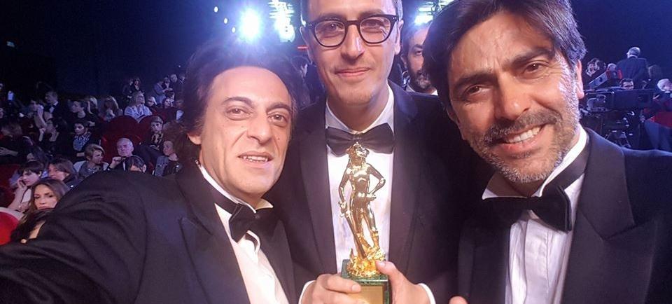 PIF CHE RITIRA IL DAVID DI DONATELLO 2017 - GIOVANI