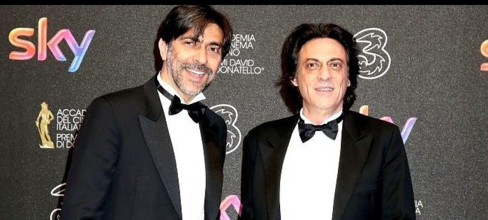 Vespertino e Bologna - Al David di Donatello - Premio giovane - Film In guerra per Amore di Pif