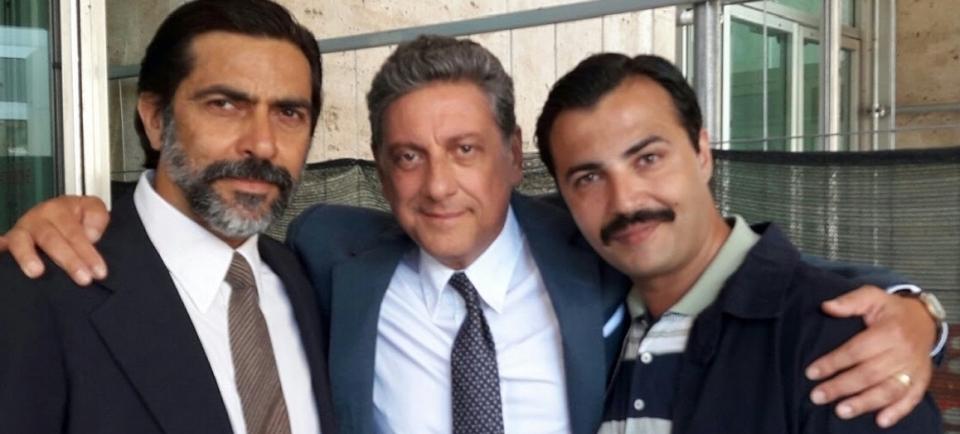 Rocco Chinnici - E' così lieve il tuo bacio sulla fronte - Film Rai 1 con Sergio Castellitto, Sergio Vespertino nel ruolo dell'agente di scorta in onda il 23 gennaio 2018